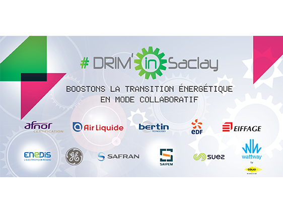 Tackle DRIM'in Saclay challenges to boost the energy transition in collaborative mode
