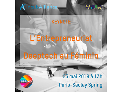 DeepTech Female Entrepreneurship: the keynote organized by IncubAlliance and Willa