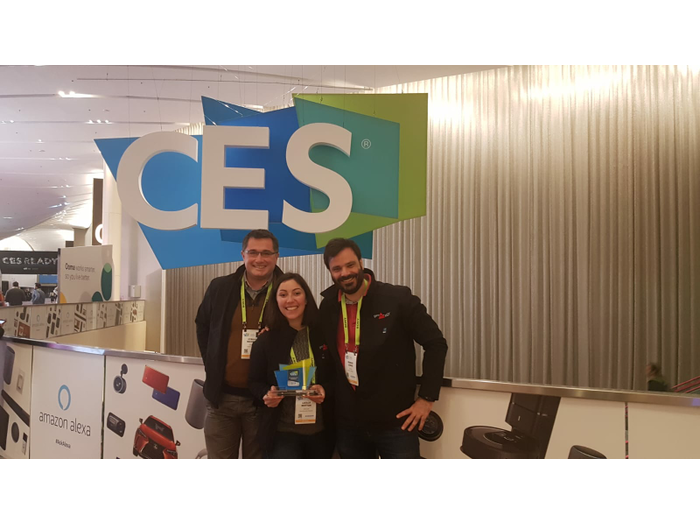 A CES AWARD for GeoFlex in Las Vegas: French startup makes waves in the world of mobility