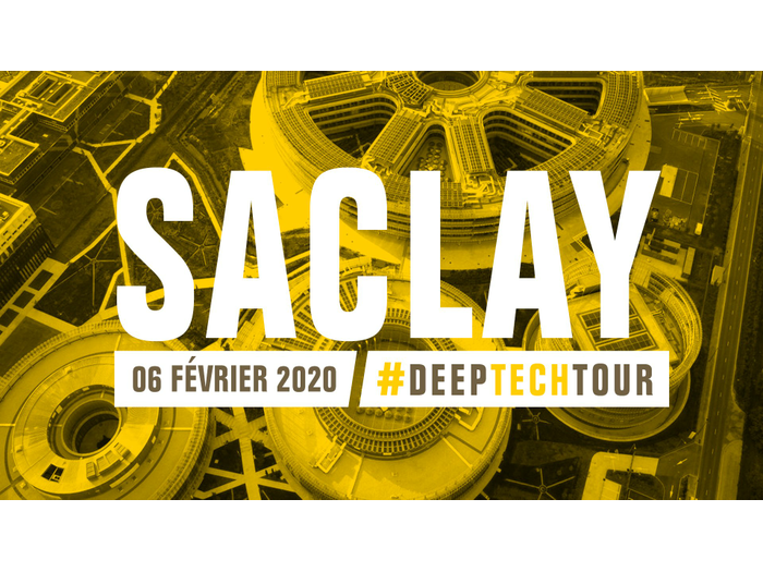 IncubAlliance present during the Saclaysian stage of the DeepTech Tour